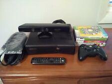 Microsoft Xbox 360 S Kinect 250GB Black Matte Console