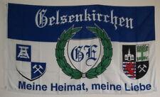 FAHNE FLAGGE 3171 STADT GELSENKIRCHEN MEINE HEIMAT MEINE LIEBE