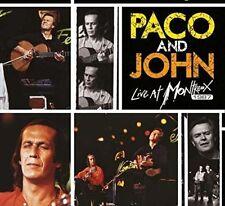 Paco De Lucía, John McLaughlin Paco and John-Live At Montreux 1987- 1DVD & 2CDs