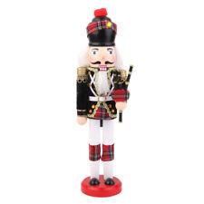 Schiaccianoci Soldato Scozzese Legno Nutcraker Decorativo Addobbi Natale