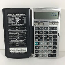 Calculated Industries Canadian Qualifier Plus 4x  - Real Estate Calculator
