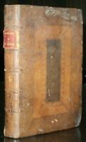 MEMOIRS OF THE CARDINAL DE RETZ, 1723, FIRST EDITION IN ENGLISH, ANTIQUE LEATHER