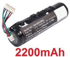 Batterie 2200mAh type 010-10806-00 Pour Garmin DC 20, Garmin DC 30, Garmin DC 40