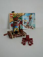 Lego Pirates 6240 Kraken Attackin - 100% Complete
