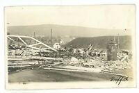 RPPC Tornado Damage WILKES BARRE PA Luzerne County Real Photo Postcard 6