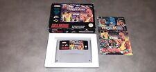 Jeu Super Nintendo SNES WWF Super Wrestlemania complet