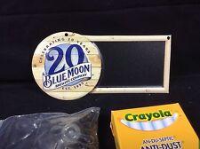 Blue Moon Belgium Beer Sign Mini Chalkboard New !! Bar Pub