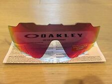 New GENUINE Oakley Jawbreaker Prizm Road Red Vented Replacement Lens