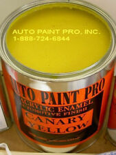 CANARY YELLOW ACRYLIC ENAMEL SINGLE STAGE AUTO BODY SHOP RESTORATION CAR PAINT