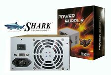 New SHARK 500W 2-SATA/Molex Desktop Computer ATX/PS3 Mini-Tower PC Power Supply