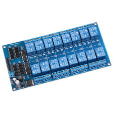 16 Canaux 12V Relais Bouclier Module Board 16 Channel Relay Low Level Trigger