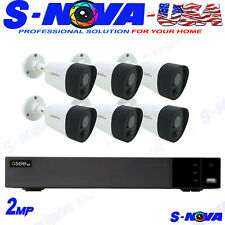 Q-See 8-Channel 5MP KIT Surveillance System with 2TB Hard Drive 6-Camera 5MP PIR