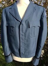 VINTAGE 1992 MENS BLUE LOOMIS ARMORED CAR SERVICE JACKET WORK WEAR - CANADA