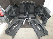 Honda Civic VIII Interior Design Sportsitze Black Alcantara Fabric Heated Seats