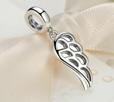 Angel Wings charm 925 Sterling Silver for a Charm bracelet plus a free gift bag