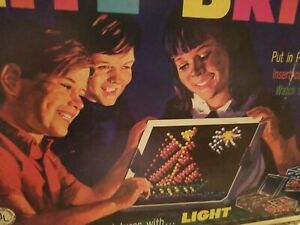 "VINTAGE ""LITE BRITE""  Vintage Orignal 1967 Hasbro Toy Light Bright RARE"