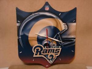 St.Louis Rams NFL Shield Wall Clock