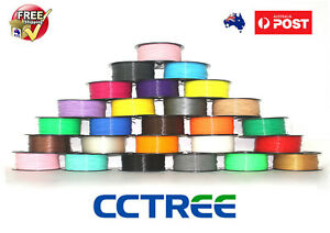 CCTREE 3D Printer Filament 1.75mm ST PLA ABS PETG 1kg GOOD QUALITY
