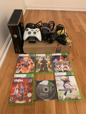 Xbox 360 Slim Full bundle with free Hdmi and ethernet cord and 6 games