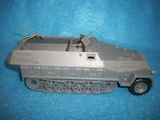 Classic Toy Soldiers/Airfix 1/32 WWII German Hanomag, armored 1/2 track in grey