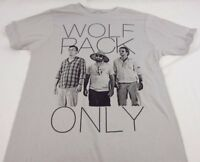Mens NEW The Hangover Wolfpack Only Logo Short Sleeve T-Shirt Size S M L XL