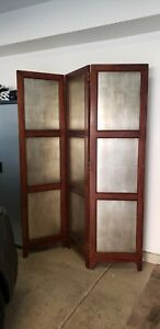 3 Panel Freestanding Room Divider Wall Divider Folding Partition Privacy Screen