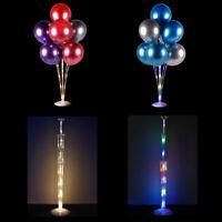 LED Light Balloon Column Stand Holder Birthday Air Balloons Table Float Bracket