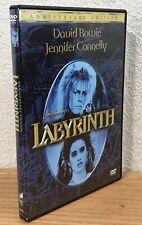 LABYRINTH (DVD, 2007) ANNIVERSARY EDITION 2-DISC SET WIDESCREEN REGION 1 ~ EUC!