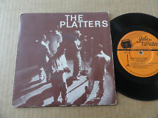 "DISQUE 45T DE THE PLATTERS  "" SEPTEMBER IN THE RAIN "" PRESSAGE ALLEMAND"