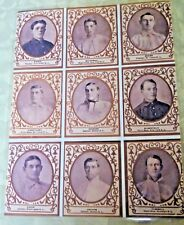 Vintage Copies Of  Baseball Players Pictures/ Cards Uncut Sheet (9)