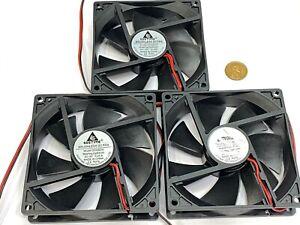 3 x Fan 5V 0.2A Computer PC CPU Case 9225 92mm 92x92x25mm 2pin DC G13