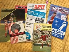 More details for vintage  football programmes , 12 issues plus a. vintage book