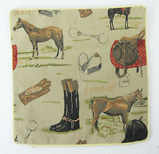 Tapestry Cushion Cover Equestrian Horse  Signare - Set of 2 Covers 40 x 40 cm