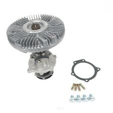 Engine Water Pump with Fan Clutch-Base US Motor Works MCK1049