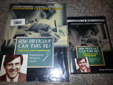 How Difficult Can This Be The F.A.T. City Workshop Richard Lavoie DVD and Guide