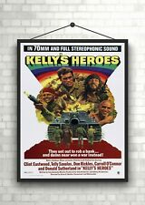 Kellys Heroes Vintage Large Movie Poster Art Print Maxi A1 A2 A3 A4