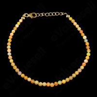 Ethiopian Opal Beaded Bracelet 925 Sterling Sliver Natural Gemstone Women Gift