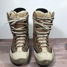 Burton Ruler Snowboard Boots Men's 9 US Ivory/Brown