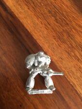 Space Marine with Needle Gun Rogue Trader 80s Warhammer 40k Metal OOP