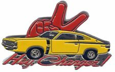 Mopar Chrysler Valiant Charger - Hey Charger -- lapel pin badge --   G021001