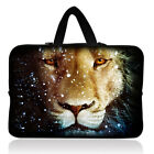 """10"""" Lion Face Laptop Bag Sleeve Carry Case Fr iPad Tablet Notebook 9.7-10.1inch"""