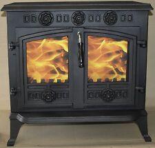Glass for JA006 HI006  Wood burning stove (202mmx230mm) foxhunter
