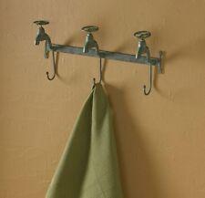 Water Faucet Triple Hook by Park Designs - Green Verdi Towel Wall Hooks