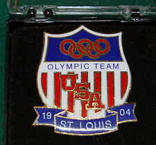 Golf is back the Olympics after 116 years. Boxed St Louis Pin 1904. SALE!