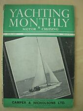 VINTAGE THE YACHTING MONTHLY MAGAZINE JULY 1948