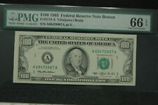 "1993 $100  Fr 2174-A PMG 66 EPQ ""NONE"" Graded Higher in PMG Registry"