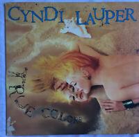 Cyndi Lauper True Colors PRT 26948  LP Vinyl Preowned. Original Inner Sleeve