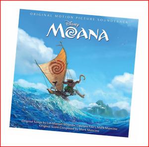 Moana CD Soundtrack FREE Shipping