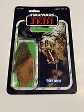 "Star Wars Carded Custom Made~RANCOR SKIN ~ Vintage Style Card- 3.75"" -Look!"