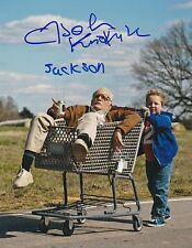 JOHNNY KNOXVILLE JACKSON NICOLL SIGNED JACKASS 8X10 PHOTO A IRVING BAD GRANDPA